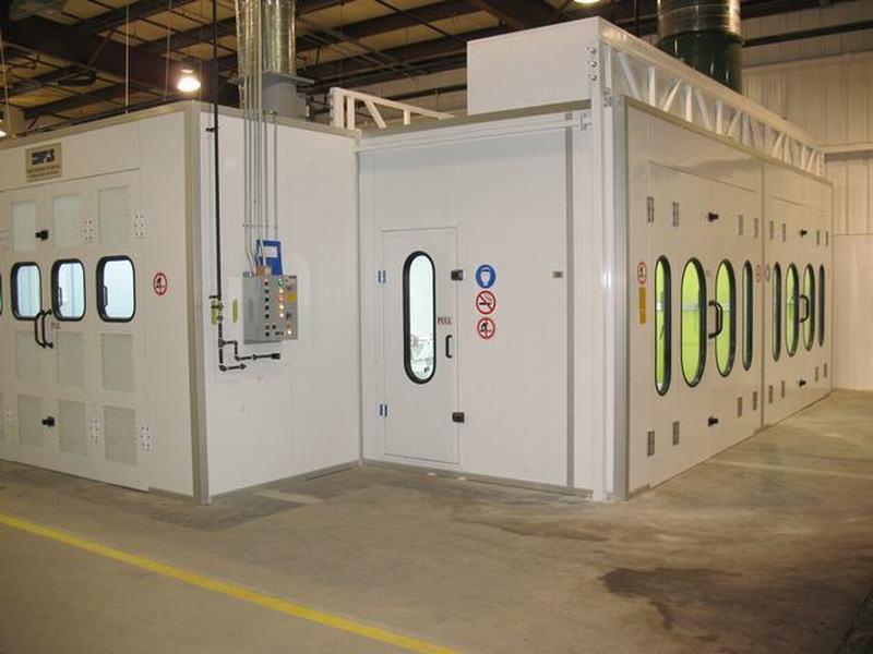 Crossing Air Tech Canada Inc Zhongda Spray Booth