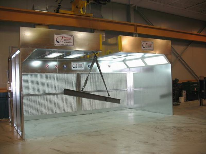 Crossing Air Tech Canada Inc Zhongda Spray Booth